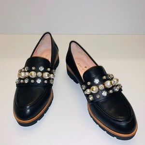 Kate Spade Pearl Loafers Size 6
